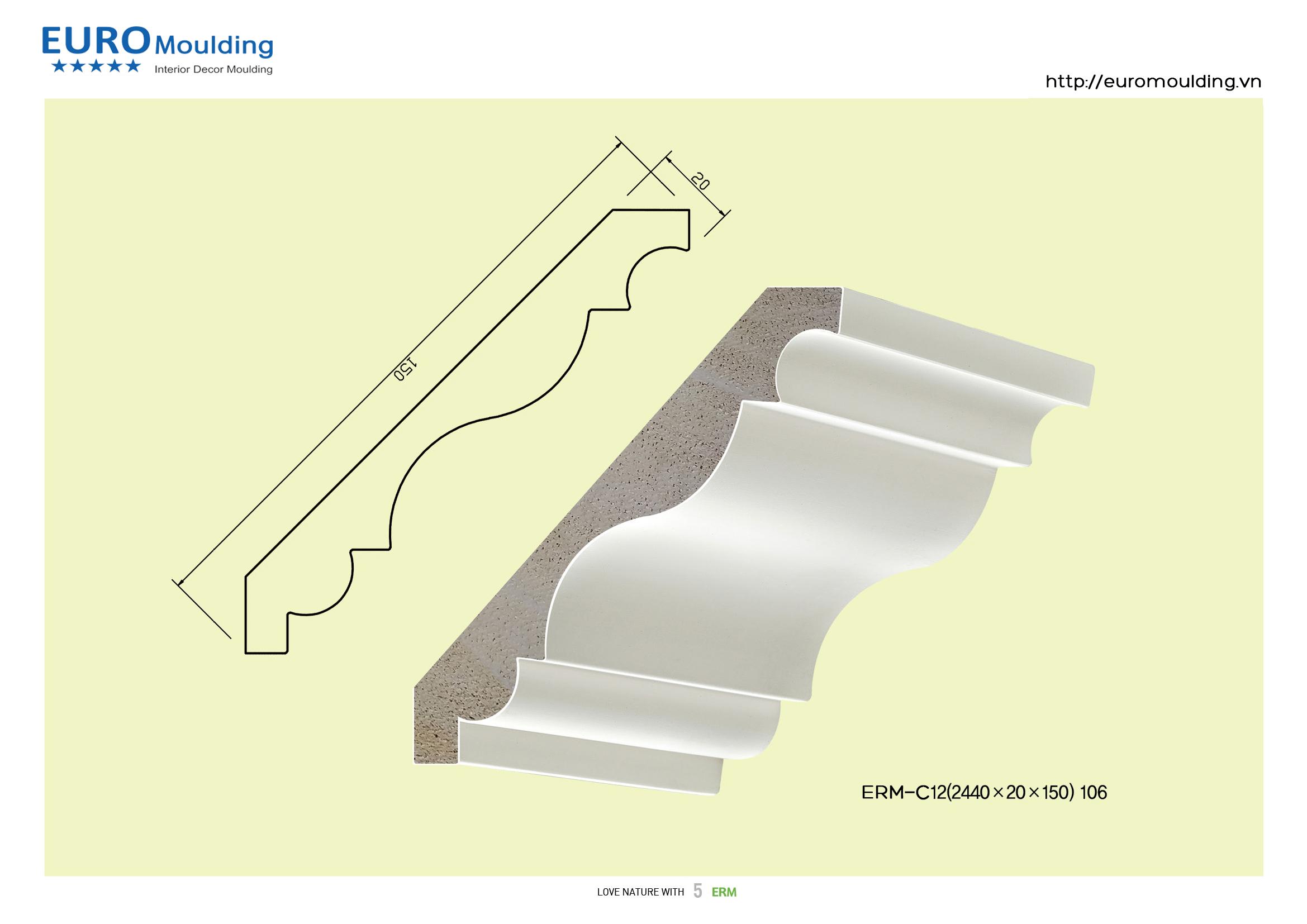 euro moulding giới thiệu sản phẩm phào chỉ trang trí nội thất làm bằng gỗ lần đầu tiên tại việt nam